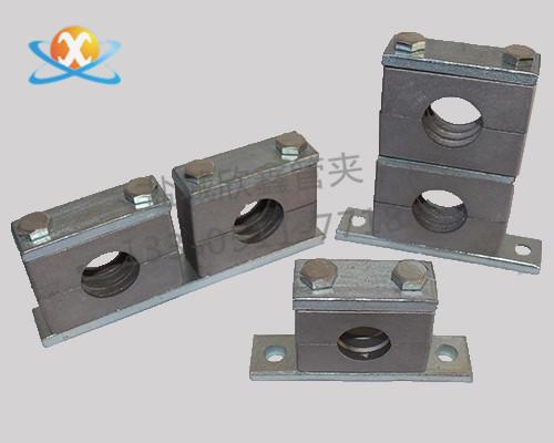 重型铝合金管夹供应