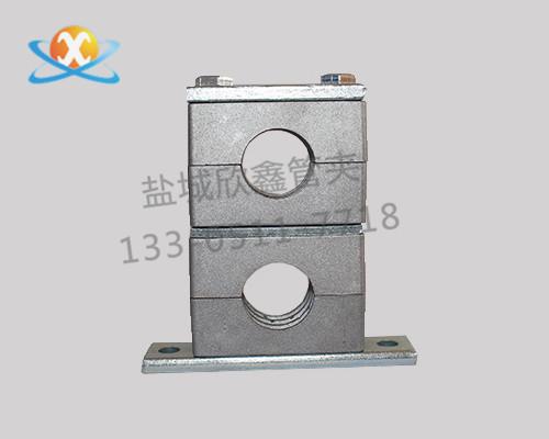 重型铝合金管夹