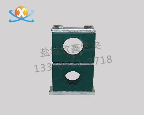 单层重型塑料管夹