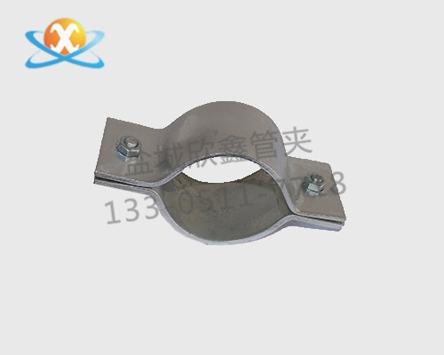 双螺栓扁钢管夹供应