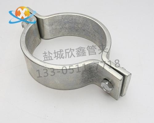 双螺栓扁钢管夹
