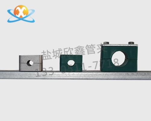轻型导轨管夹
